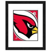 NFL 18-Inch x 22-Inch Arizona Cardinals Team Logo Framed Photo