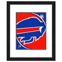 NFL 18-Inch x 22-Inch Buffalo Bills Team Logo Framed Photo