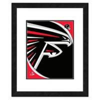 NFL 18-Inch x 22-Inch Atlanta Falcons Team Logo Framed Photo