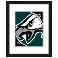 NFL 18-Inch x 22-Inch Philadelphia Eagles Team Logo Framed Photo