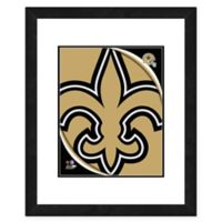 NFL 18-Inch x 22-Inch New Orleans Saints Team Logo Framed Photo