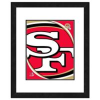NFL 18-Inch x 22-Inch San Francisco 49ers Team Logo Framed Photo