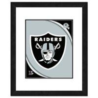 NFL 18-Inch x 22-Inch Oakland Raiders Team Logo Framed Photo