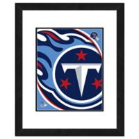 NFL 18-Inch x 22-Inch Tennessee Titans Team Logo Framed Photo