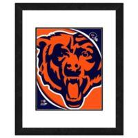 NFL 18-Inch x 22-Inch Chicago Bears Team Logo Framed Photo