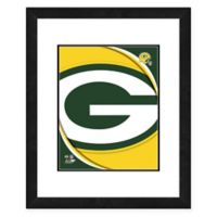 NFL 18-Inch x 22-Inch Green Bay Packers Team Logo Framed Photo