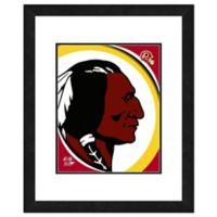 NFL 18-Inch x 22-Inch Washington Redskins Team Logo Framed Photo