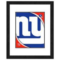 NFL 18-Inch x 22-Inch New York Giants Team Logo Framed Photo