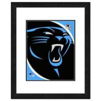 NFL 18-Inch x 22-Inch Carolina Panthers Team Logo Framed Photo