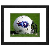 NFL 18-Inch x 22-Inch Tennessee Titans Helmet Framed Photo
