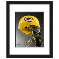 NFL 18-Inch x 22-Inch Green Bay Packers Helmet Framed Photo