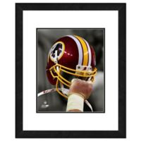 NFL 18-Inch x 22-Inch Washington Redskins Helmet Framed Photo