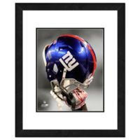 NFL 18-Inch x 22-Inch New York Giants Helmet Framed Photo