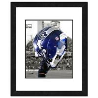 NFL 18-Inch x 22-Inch Seattle Seahawks Helmet Framed Photo
