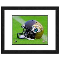 NFL 18-Inch x 22-Inch Jacksonville Jaguars Helmet Framed Photo