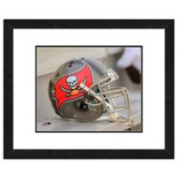 NFL 18-Inch x 22-Inch Tampa Bay Buccaneers Helmet Framed Photo