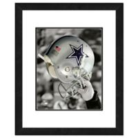 NFL 18-Inch x 22-Inch Dallas Cowboys Helmet Framed Photo