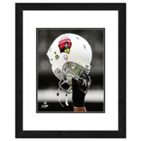 NFL 18-Inch x 22-Inch Arizona Cardinals Helmet Framed Photo