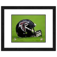 NFL 18-Inch x 22-Inch Atlanta Falcons Helmet Framed Photo