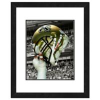 NFL 18-Inch x 22-Inch New Orleans Saints Helmet Framed Photo