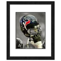 NFL 18-Inch x 22-Inch Houston Texans Helmet Framed Photo