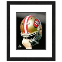 NFL 18-Inch x 22-Inch San Francisco 49ers Helmet Framed Photo