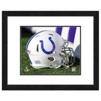 NFL 18-Inch x 22-Inch Indianapolis Colts Helmet Framed Photo