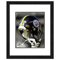 NFL 18-Inch x 22-Inch Pittsburgh Steelers Helmet Framed Photo