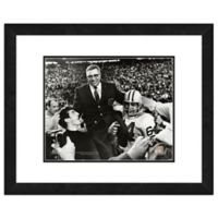 NFL 18-Inch x 22-Inch Vince Lombardi Green Bay Packers Framed Photo