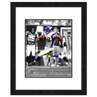 NFL 18-Inch x 22-Inch Adrian Peterson Minnesota Vikings Framed Photo