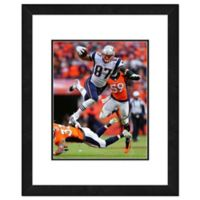 NFL 18-Inch x 22-Inch Rob Gronkowski New England Patriots Framed Photo