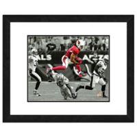 NFL 18-Inch x 22-Inch Larry Fitzgerald Arizona Cardinals Framed Photo