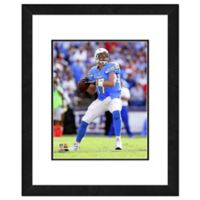 NFL 18-Inch x 22-Inch Philip Rivers San Diego Chargers Framed Photo