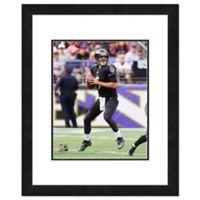 NFL 18-Inch x 22-Inch Joe Flacco Baltimore Ravens Framed Photo