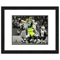 NFL 18-Inch x 22-Inch Clay Matthews Green Bay Packers Framed Photo