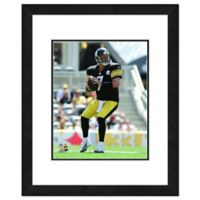 NFL 18-Inch x 22-Inch Ben Roethlisberger Pittsburgh Steelers Framed Photo