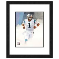 NFL 18-Inch x 22-Inch Cam Newton Carolina Panthers Framed Photo