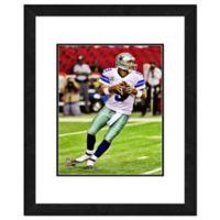 NFL 18-Inch x 22-Inch Tony Romo Dallas Cowboys Framed Photo