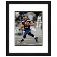 NFL 18-Inch x 22-Inch Russell Wilson Seattle Seahawks Framed Photo