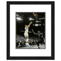 NBA Framed 11-Inch x 14-inch Basketball Legends Stephen Curry Photo