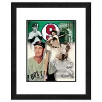MLB Framed 11-Inch x 14-Inch Baseball Legends Ted Williams Photo