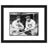 MLB Framed 11-Inch x 14-Inch Baseball Legends Ruth and Gehrig Photo