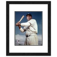 Framed 11-Inch x 14-Inch Baseball Legends Jackie Robinson Photo