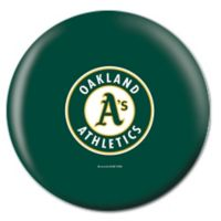 MLB Oakland Athletics 15 lb. Bowling Ball