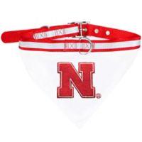 University of Nebraska Medium Pet Collar Bandana