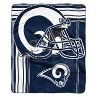NFL Los Angeles Rams Strike Raschel Oversized Throw Blanket