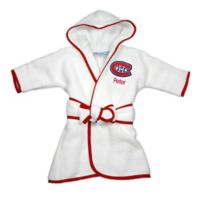 NHL Montreal Canadiens Hooded Robe in White