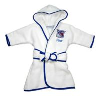 NHL New York Rangers Hooded Robe in White