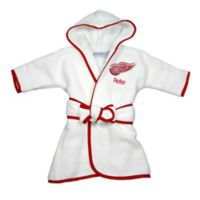NHL Detroit Red Wings Hooded Robe in White