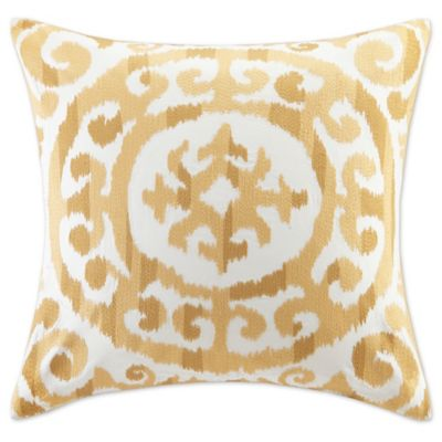 Fleece Flounce Pillow Yellow From Anthropologie
